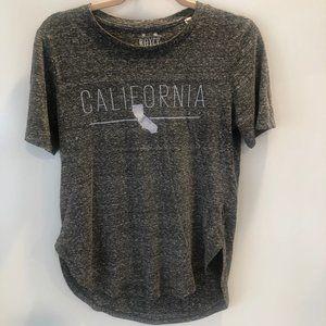 ROYCE BRAND short sleeve California gray t-shirt